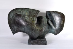 Antioche Bronze Sculpture by Jean Ghysels